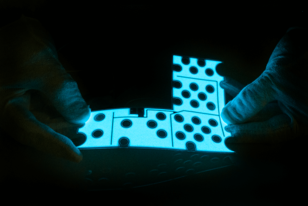 Custom Electroluminescent panel