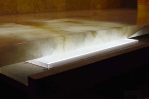LED light panel back lighting onyx