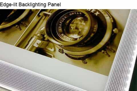 LED Light panel [light pad] for backlighting stone and glass